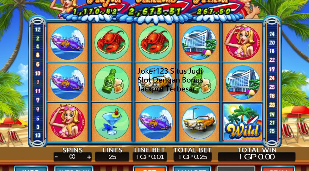 Joker123 Situs Judi Slot Dengan Bonus Jackpot Terbesar
