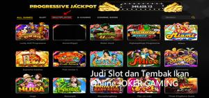 Judi Slot dan Tembak Ikan Online JOKER GAMING
