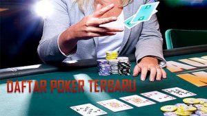 Metode Pendaftaran Akun Resmi Poker Online